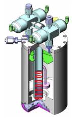 ボトムアップ型プローブ検出イメージ図 (GO Element製専用容器)