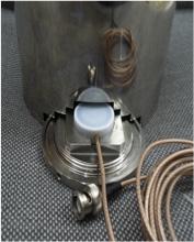 ボトムアップ型プローブ設置イメージ (GO Element製専用容器)